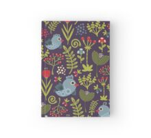 Folk birds. Hardcover Journal