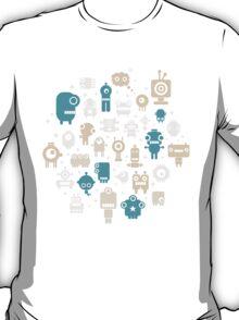 Robots. T-Shirt