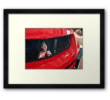 Mitsi Evo Grille Framed Print