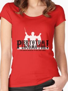 Piertotum Locomotor - I've Always Wanted To Use That Spell Women's Fitted Scoop T-Shirt