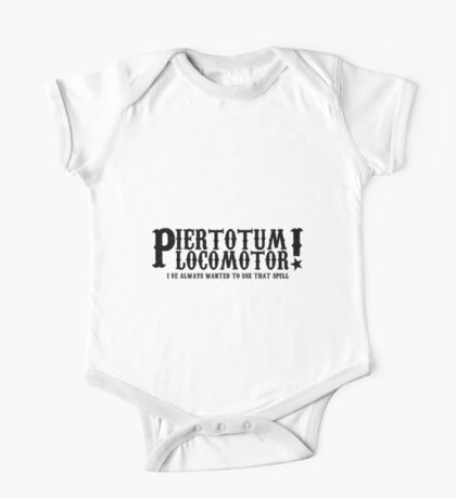 Piertotum Locomotor - I've Always Wanted To Use That Spell One Piece - Short Sleeve