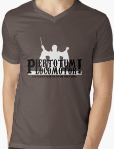 Piertotum Locomotor - I've Always Wanted To Use That Spell Mens V-Neck T-Shirt