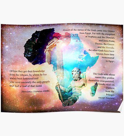 Long Live Libya - Land of Neptune Poster