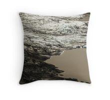 Icelandic Glacier Throw Pillow