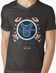 Lon Lon Milk Mens V-Neck T-Shirt