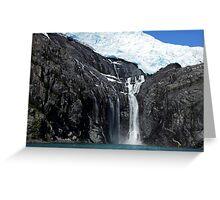 Alaskan Falls Greeting Card