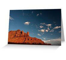 Navajo Sandstone in the Evening Light Greeting Card