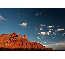Navajo Sandstone in the Evening Light Photographic Print