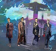 Doctor WHO - Four Re-Generations by Presumably