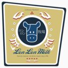 Lon Lon Milk (Sticker) by Rachael Thomas