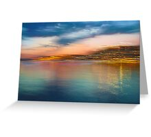 Landscape Motion Photo Painting Greeting Card