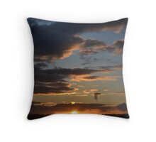 Angry Clouds After The Rain Throw Pillow