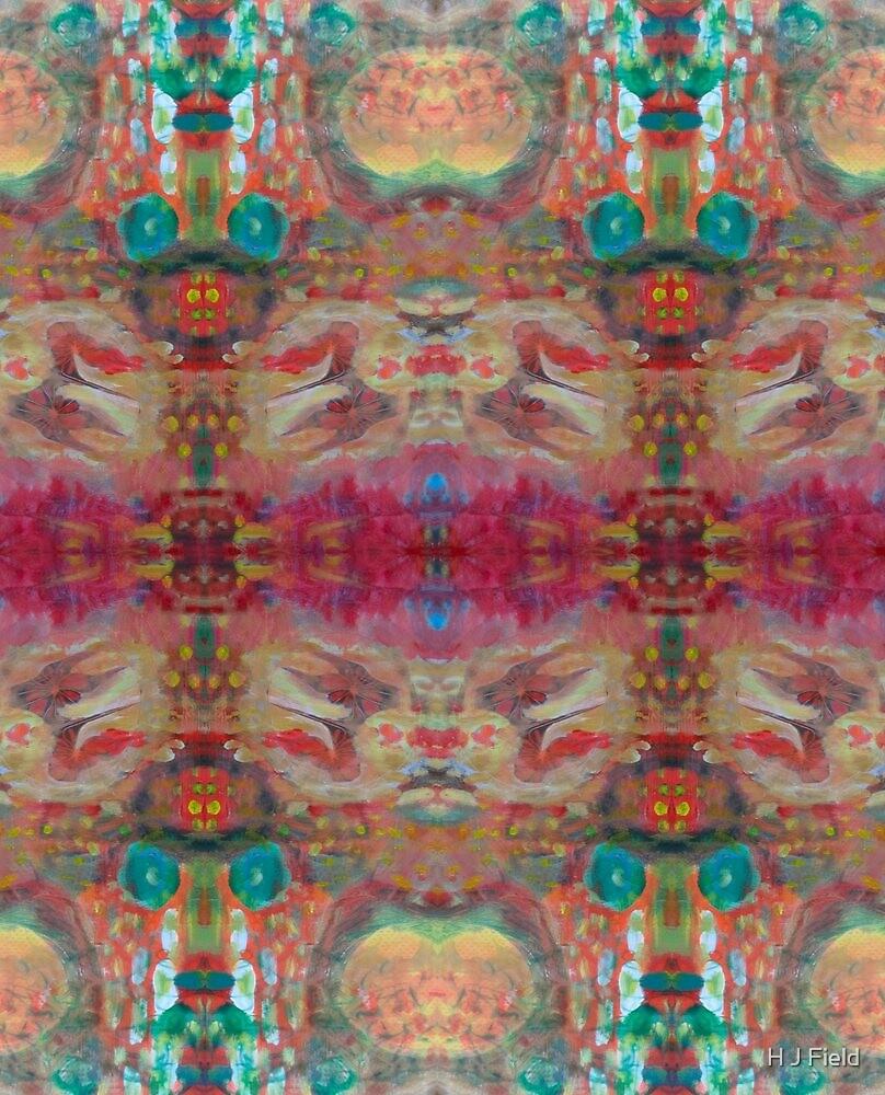 swishy pretty pink collage by H J Field