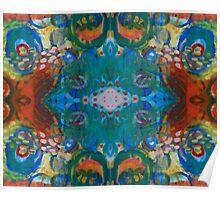 colourful swirly fun Poster