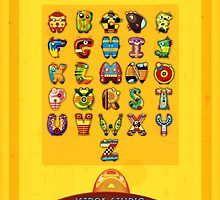 Super Alphabet back cover by Mike Cressy