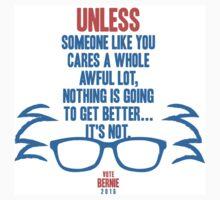 Bernie Sanders The Lorax  One Piece - Short Sleeve