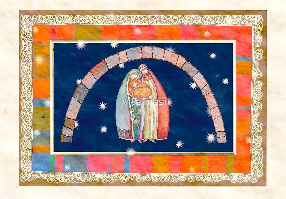 Christmas: Jesus Christ , Joseph, Mary  by vimasi