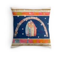 Christmas: Jesus Christ , Joseph, Mary  Throw Pillow