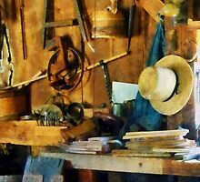 Old Wood Shop by Susan Savad
