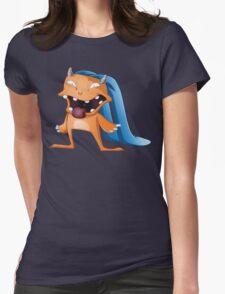 Halloween Monster Womens Fitted T-Shirt