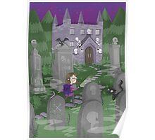 Exploring the Graveyard Poster