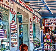 """TASTE OF GREECE""  Tarpon Springs, Florida by AuntDot"