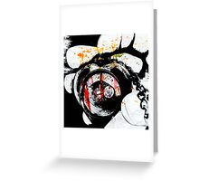 Love Defeated Greeting Card