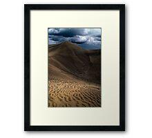 Dark Dune Framed Print