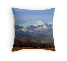 """Eastern Sierras"" Throw Pillow"