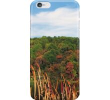 The Foothills In Autumn iPhone Case/Skin