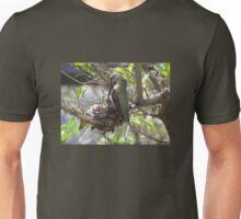 Hummingbird Momma Feeding Her Baby Unisex T-Shirt
