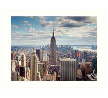 NYC: Empire Art Print