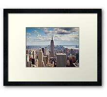NYC: Empire Framed Print