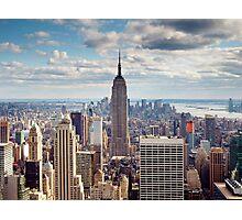 NYC: Empire Photographic Print