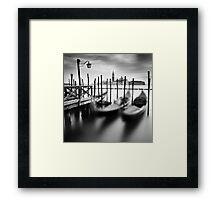 Venice: Gondolas Framed Print
