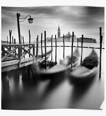 Venice: Gondolas Poster