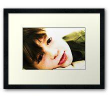 My Best Boy Framed Print