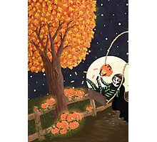 Trick or Treat Photographic Print