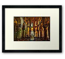 St John's Chapel, London Framed Print