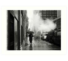 NYC: Umbrella Art Print