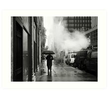 NYC: Umbrella Art Print