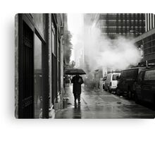 NYC: Umbrella Canvas Print