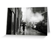 NYC: Umbrella Greeting Card