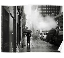 NYC: Umbrella Poster