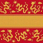 dragon pattern for 2012 new year by Nataliia-Ku