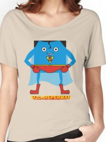 supersquareman Women's Relaxed Fit T-Shirt
