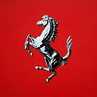 The Prancing Horse - Acrylic Painting by Scott Simpson
