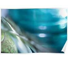 Fibers, Glass, and Feather Poster