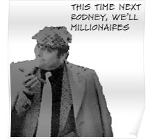 Only fools and Horses- This time next year we'll be millionaires Del boy Trotter Poster