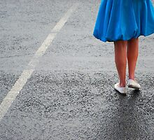 Blue Coat & Legs by Paul Finnegan